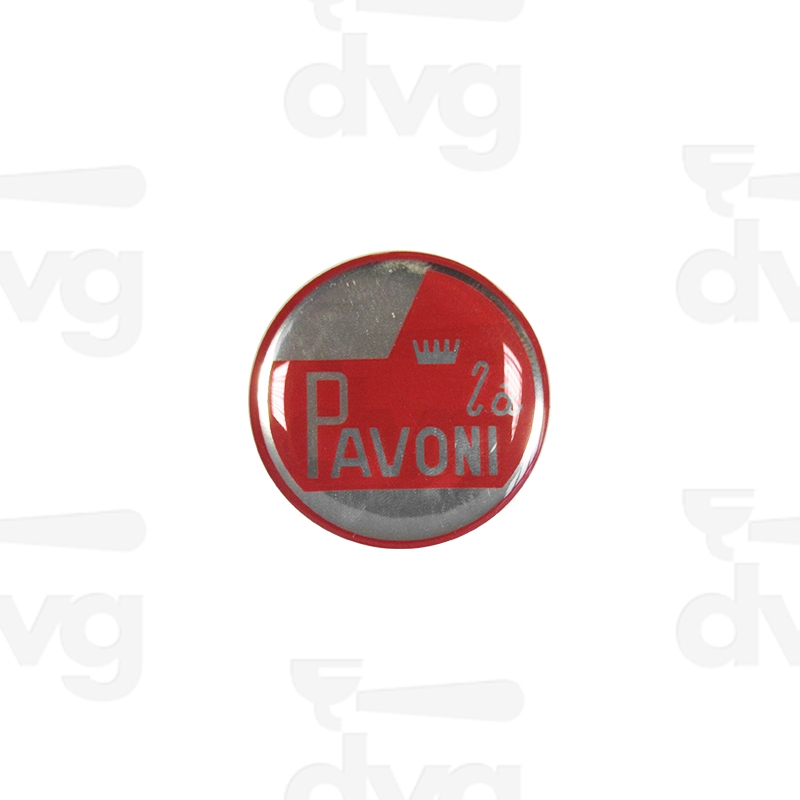 Logo La Pavoni D307 Adhesive Label Spare Parts Coffee
